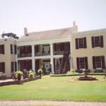 Cedar Grove Mansion Inn, from the back